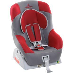 Cadeira para Auto Galzerano Orion Master Grafite/Vermelha, oferece qualidade, conforto e segurança.