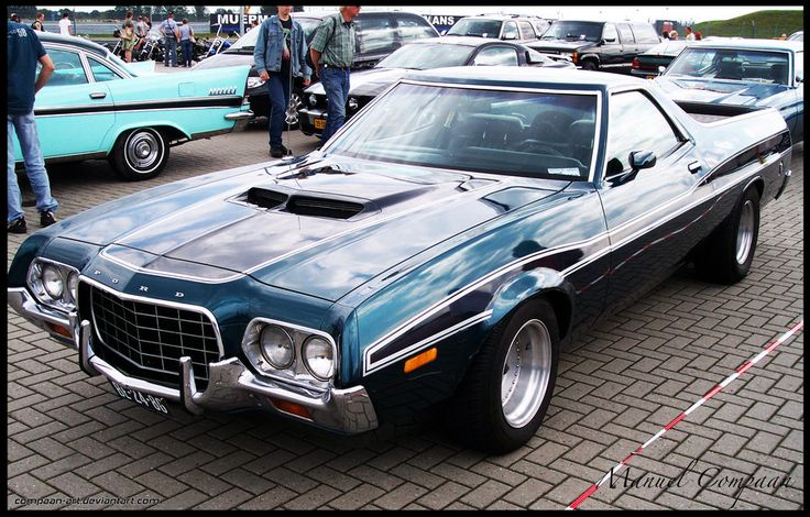 Ford Ranchero 1972 We Had One Of These Loved It Old