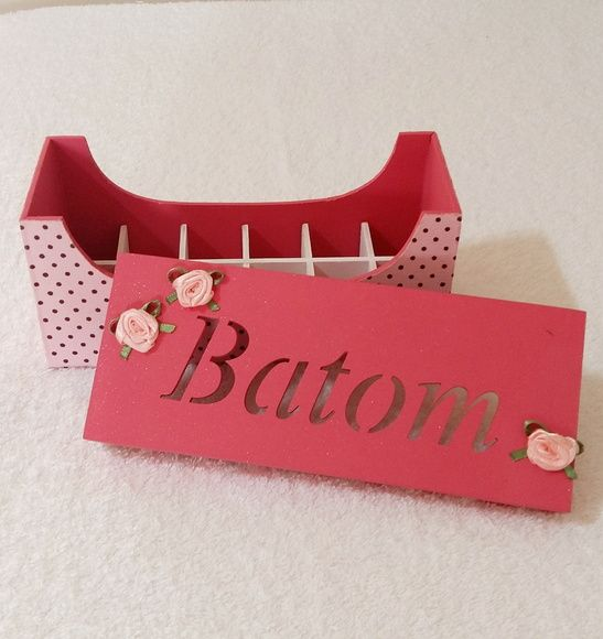 Porta Batom Mdf