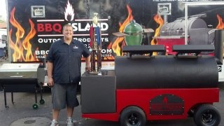 Bam Bam BBQ Pit Master - Awarded Grand Champion!  Check out Bam Bam's BBQ on FB!