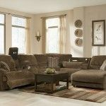 Rustic Sectional Sofas with Recliners