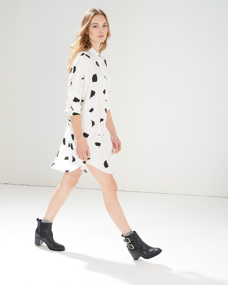 Luks White Shirtdress - Win your #ARWishlist at @atterleyroad