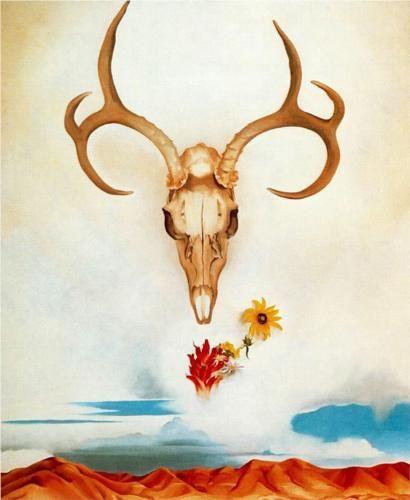 Summer Days  Artist: Georgia O'Keeffe  Style: Precisionism  Genre: landscape: