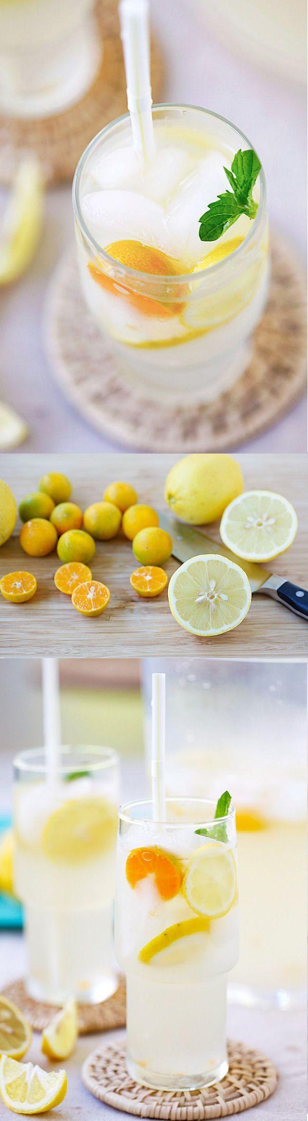 Coconut Water Lemonade #coconutwater #lemonade #refreshing