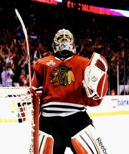 Corey Crawford, Chicago Blackhawks (Source: toddlerseguin | Tumblr)
