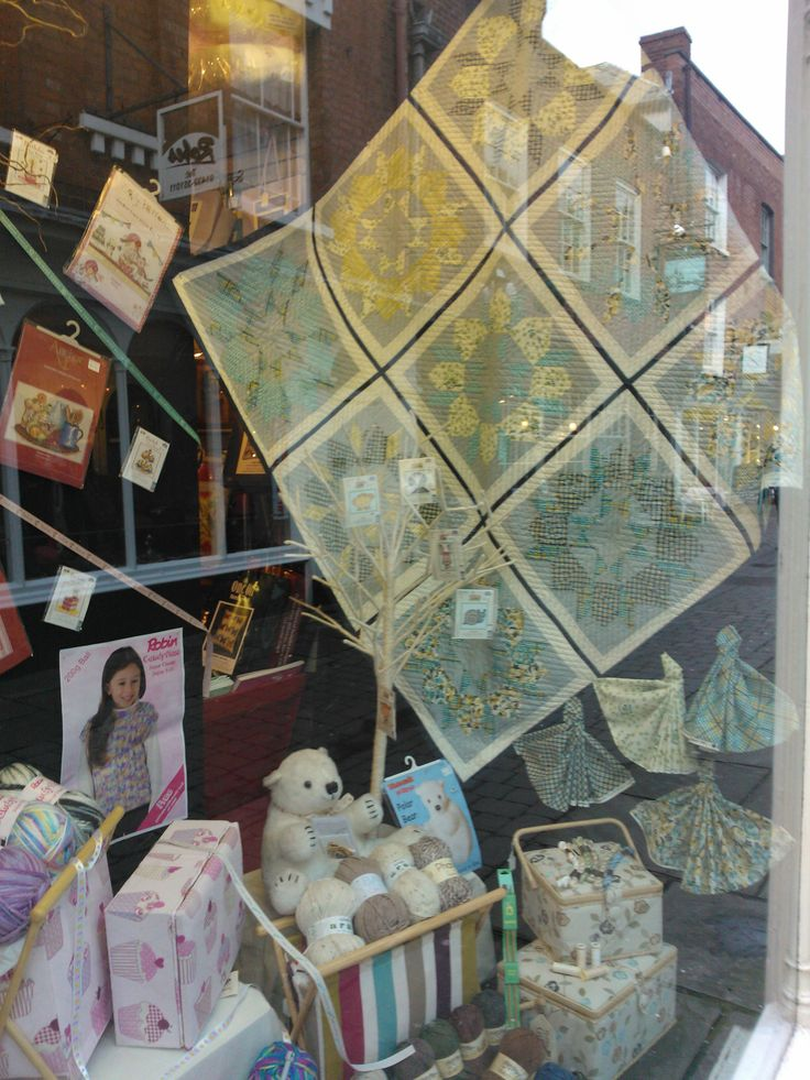 Fab quilting shop! Doughty's, Hereford :)