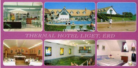 Postcard from Erd - Thermal Hotel Liget....Erd, Hungary