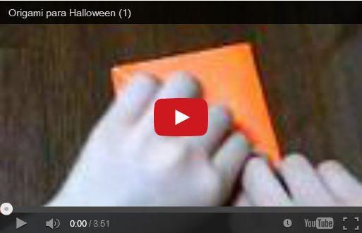 Halloween: zucca di carta