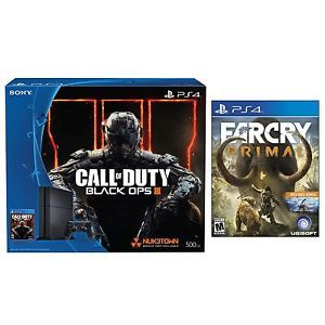 Buy PlayStation 4 Console COD Black Ops 3 500GB Bundle Far Cry Primal -PlayStation4