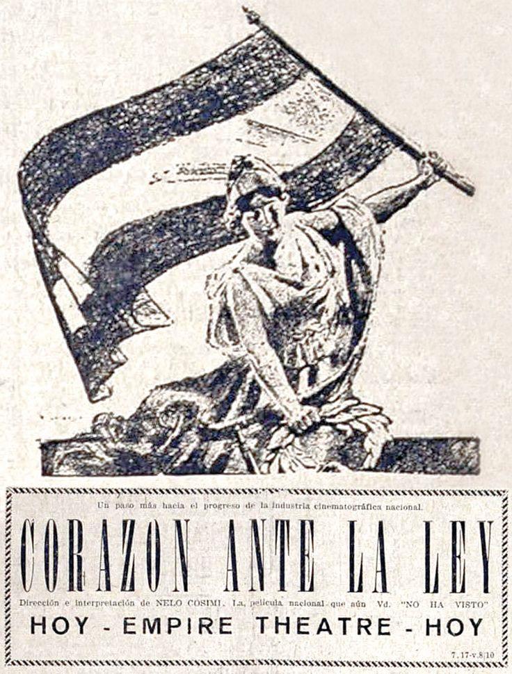 1929 - CORAZON ANTE LA LEY - Nelo Cosimi - (EL ORDEN, Martes 8 de Octubre de 1929, Santa Fe, Argentina)