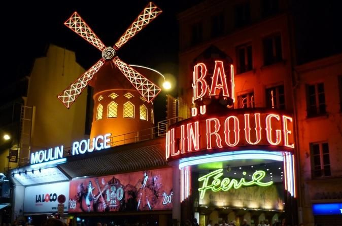 """Private Transfer: Moulin Rouge Round-trip  Book your transfer from any Paris hotel to the famous cabaret and back! High-quality service with a professional driver who will meet you at the hotel, drive you to the venue and return you back.Note: Paris suburbs not included. Your address in Paris must have a postal code beginning with """"75"""".Book a private transfer from your hotel in Paris to the famous cabaret and back in a comfortable vehicle.When booking your transfer, please add..."""