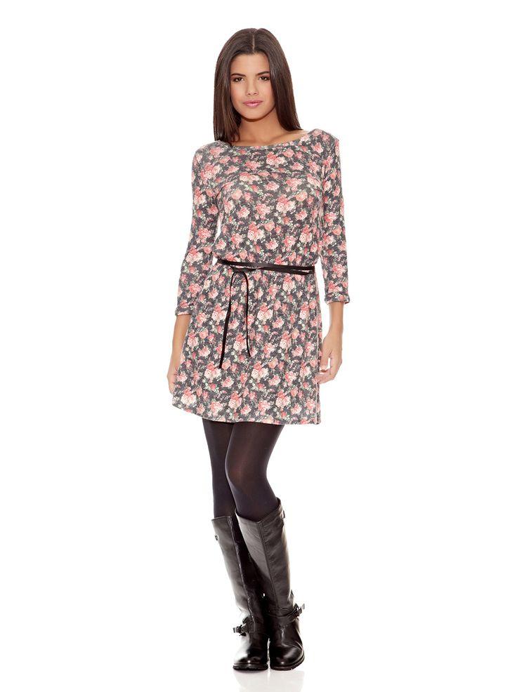 Springfield Vestido Mini Flor en Amazon BuyVIP