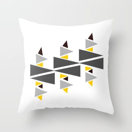 Buy Triangle-d Throw Pillow by Mindssgreen. Worldwide shipping available at Society6.com. Just one of millions of high quality products available.