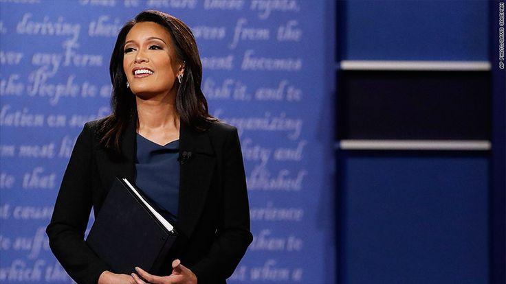 Sticking firmly to script, Elaine Quijano loses the debate - http://blog.clairepeetz.com/sticking-firmly-to-script-elaine-quijano-loses-the-debate/