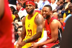 """LeBron James Posts Instagram Message About Dwyane Wade After Cavaliers-Heat Game-------""""Bigger than basketball... #mybrotherforlife this game is a stepping stone for what's to come in the future.""""."""