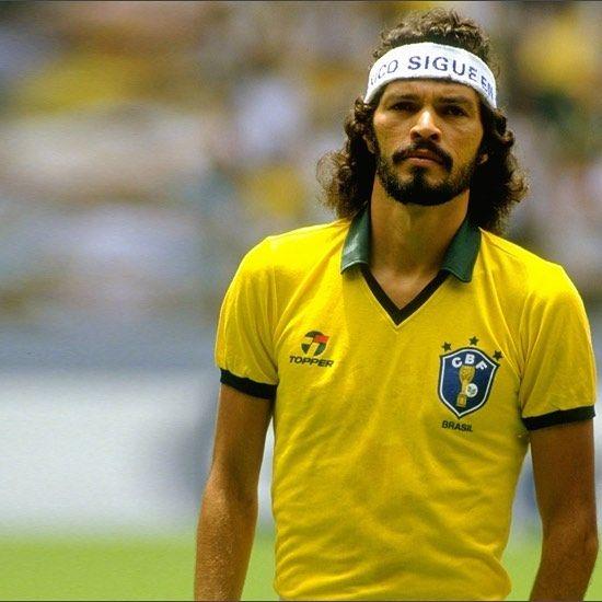 Socrates, '86  #socrates #brazil #brasil #worldcup #mexico86 #football #footballplayer #retro #retrofootball #vintage #vintagefootball #soccer #soccerplayer #80s #80sfootball #worldcup