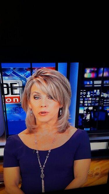 Deborah Norville hair