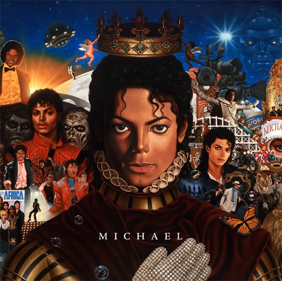 Michael Jackson CDs covers