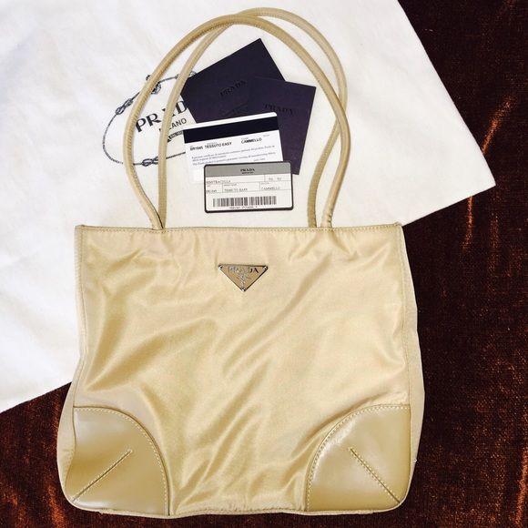 PRADA - Authentic Tessuto Easy Tote Handbag Authentic Prada ...