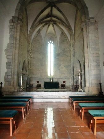 Chapel at Pousada de Beja, Sao Francisco - a restored 13th Century Franciscan Convent, located in the historical center of the town of Beja, Portugal.