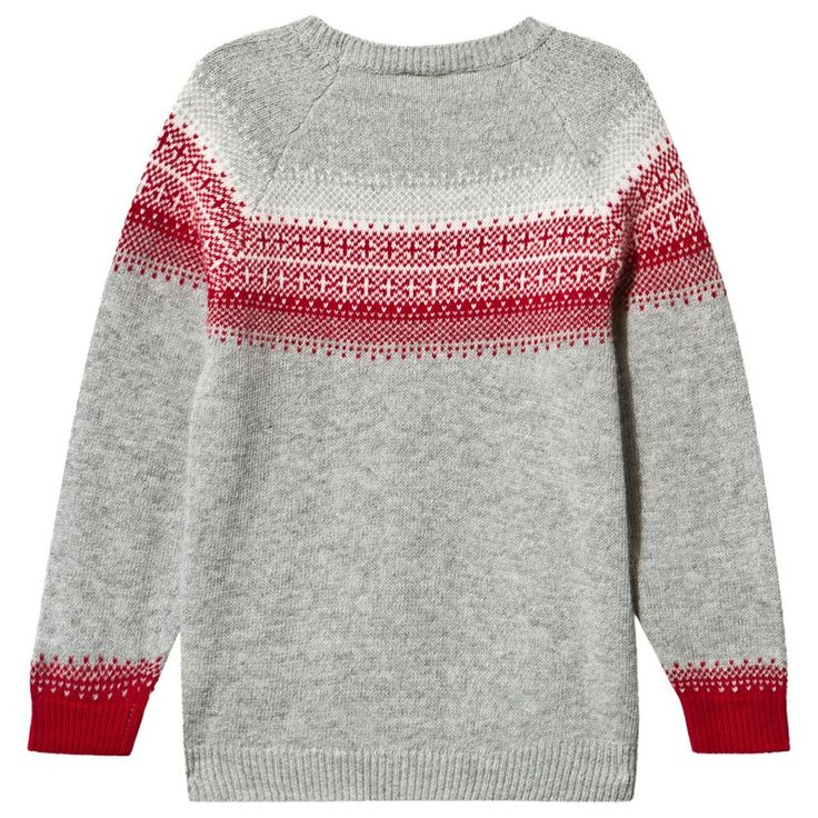 This festive seasontreat him to this sweet knit jumper from Il Gufo. Luxuriously crafted in a wool and cotton blend, it features