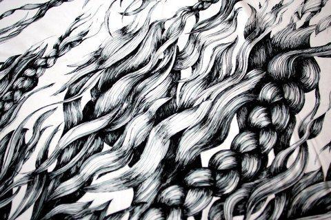 Pony Braid white-black by Hellin