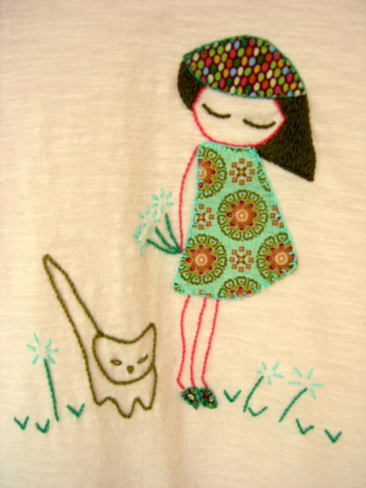camisola de menina