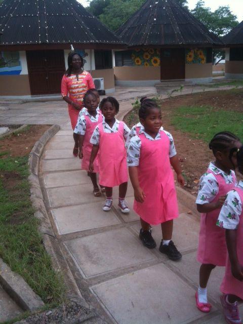 Going to school in SOS Children's Village Tema (Ghana) #SOSKinderdorpen
