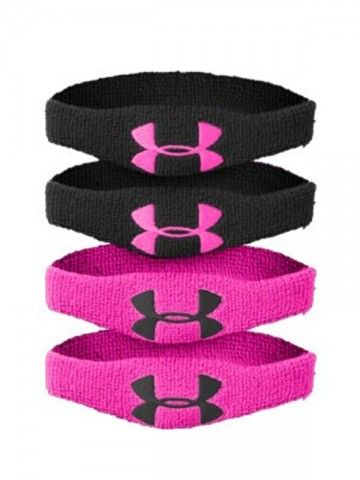 Under Armour Armband 1 inch #Hibbett4Pink