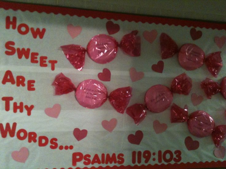 Valentine Board - could use different colors or modify for other uses too