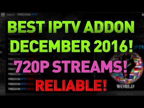INSANE BRAND NEW HD IPTV ADDON!!! NO BUFFERING!! BEST KODI ADDONS