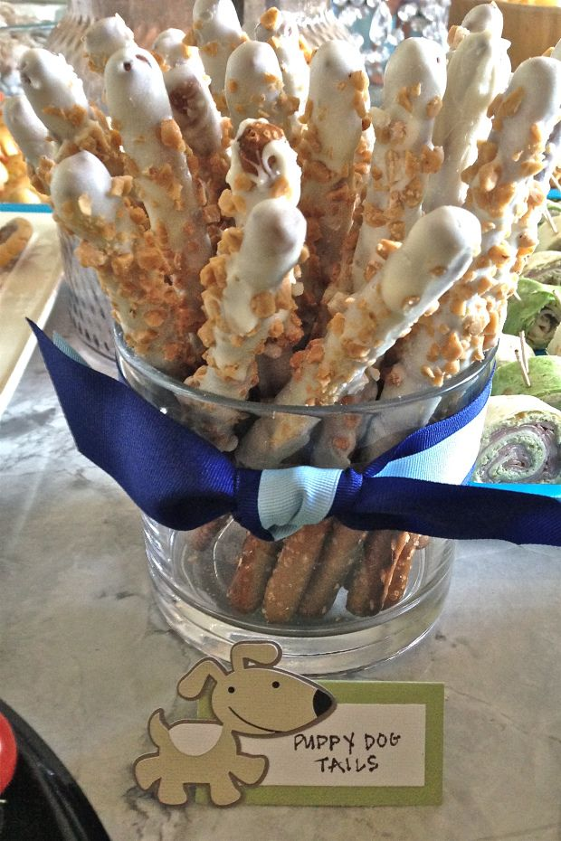 glamourita puppy dog tails- frog, snails and puppy dog tails boy baby shower