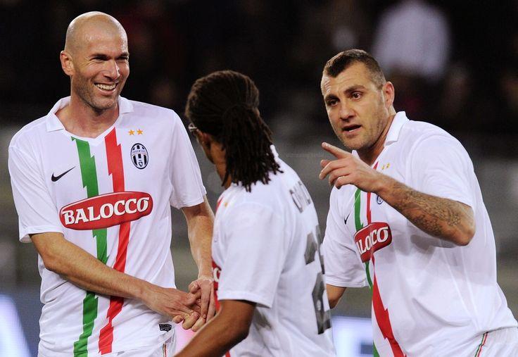 Zidane Davids e Vieri