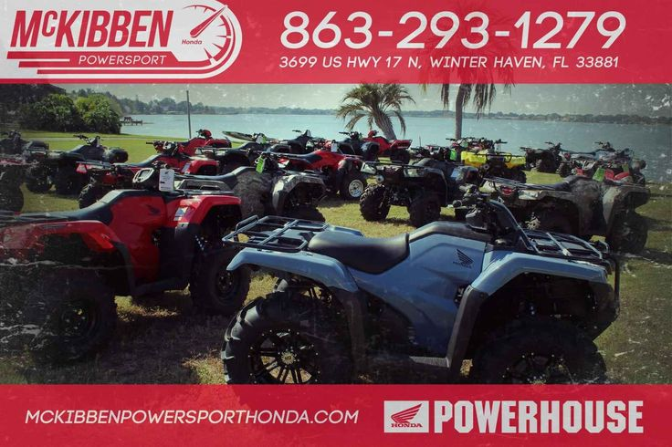 New 2017 Honda FourTrax Recon ATVs For Sale in Florida. 2017 HONDA FourTrax Recon, McKibben Powersport Honda is a family owned and operated dealership in Winter Haven, Florida. We are located at 3699 US HWY 17 N Winter Haven Fl, 33881 between US HWY 92 and Havendale Blvd. We proudly serve Polk county and the surrounding areas, to include Lakeland, Auburndale, Bartow, Kissimmee, Lake Alfred, and Sebring. We are a Honda Powerhouse Dealer and we represent the full line for Honda Powersports…