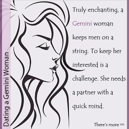 Contains A How Woman Happy To Gemini Keep the