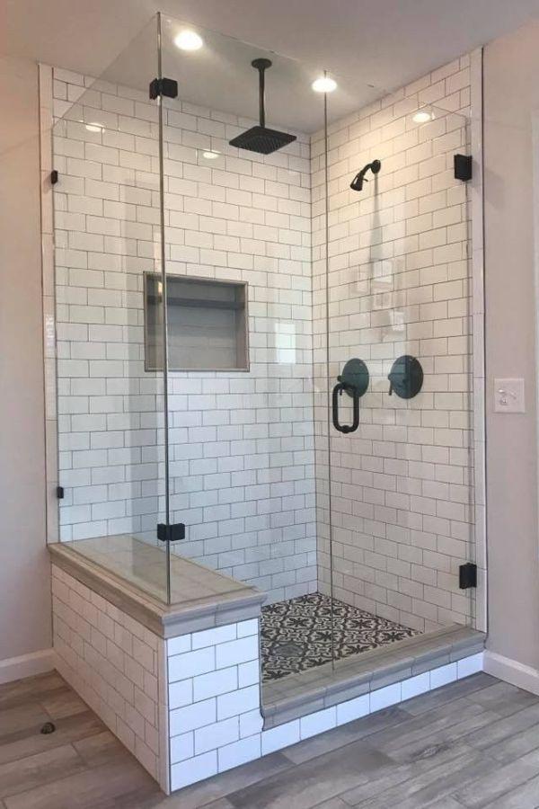 Interesting Bathroom Shower Tile Design Ideas And Makeover 29 Bathroom Design In 2020 Master Bathroom Remodel Shower Bathroom Remodel Shower Bathroom Remodel Master