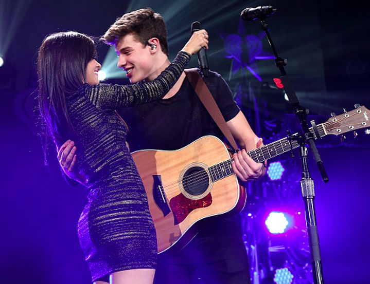 Shawn Mendes and Camila Cabello.....I ship them because they are cute together..even though I love him...