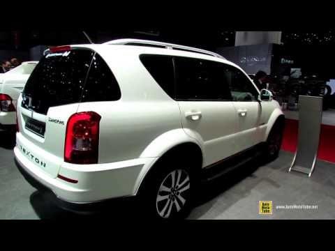 2014 Ssang Yong Rexton RX200 - Exterior and Interior Walkaround - 2014 Geneva Motor Show - YouTube