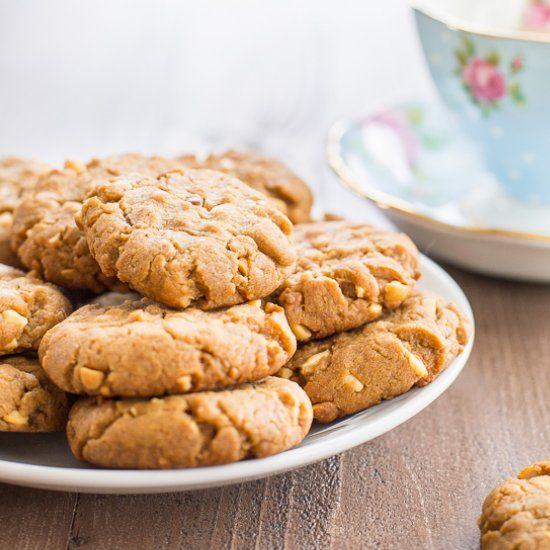 Vegan Peanut Butter Cookies | foodgawker | Bloglovin'