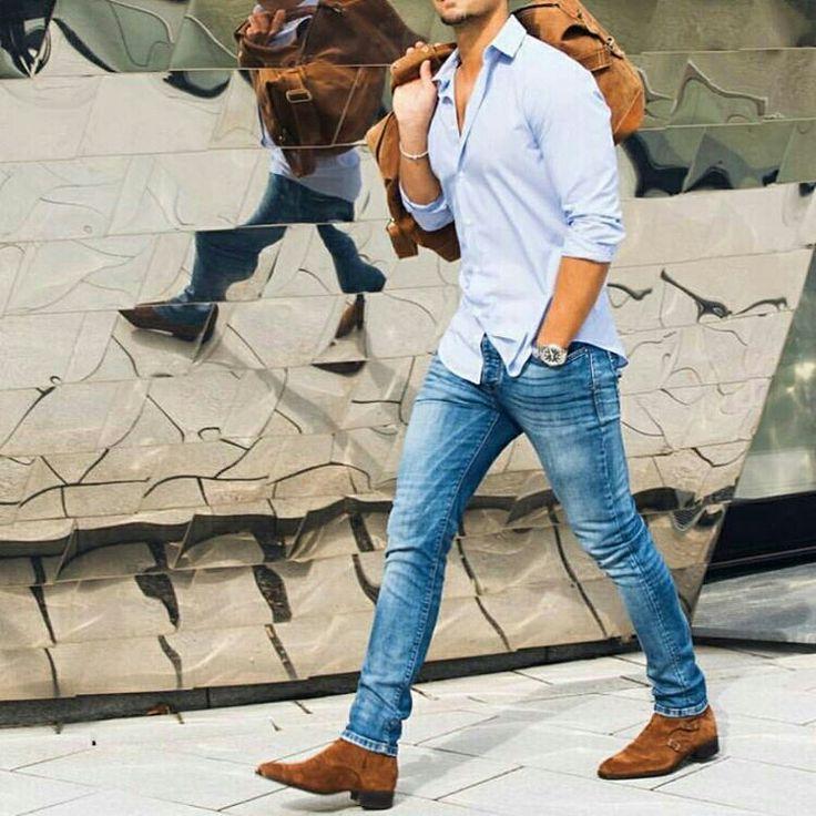 Modernmencasualstyle #men #fashion #casualwear