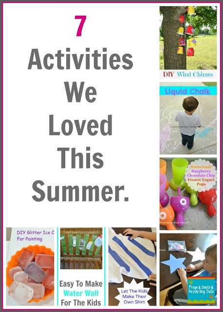 Summer Bucket List round up: 7 activities we loved this summer. Great for toddler and preschooler aged kids.