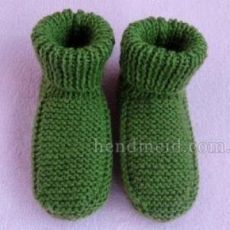 Мастер-класс Как связать спицами Детские носочки на Pro100hobbi