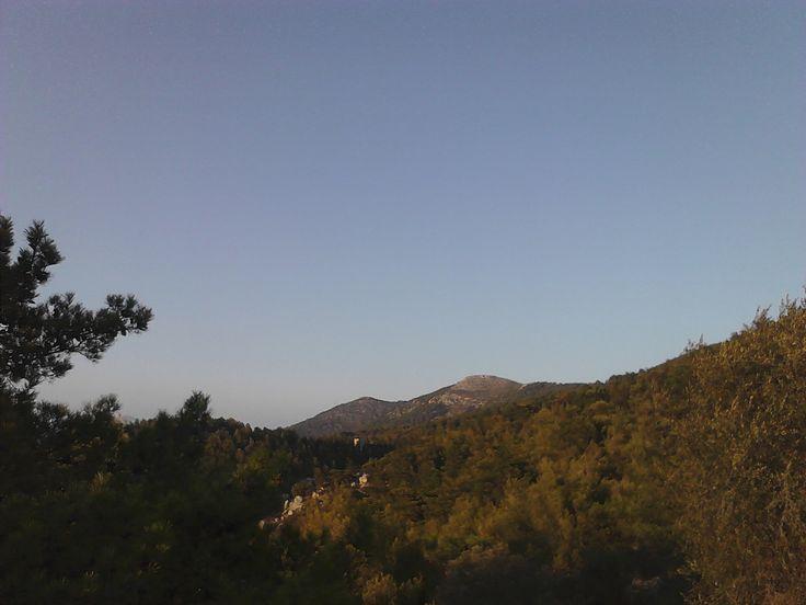 Mt Hymettus