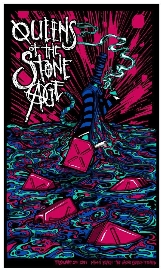 Queens of the Stone Age - Brad Klausen - 2014 ---- #QOTSA