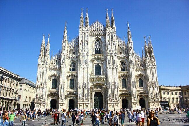 Milano, Lombardia konumunda Duomo di Milano