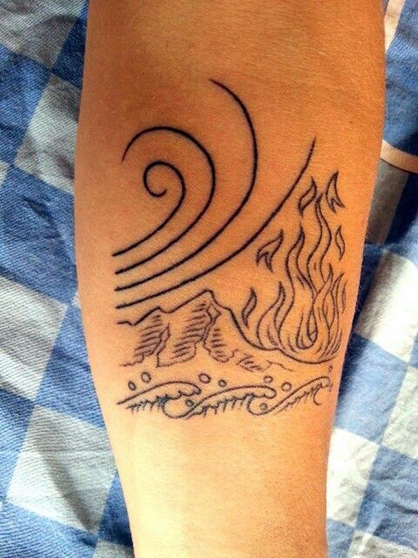 Perfect Elemental Tattoo Ideas and Suggesions (32)