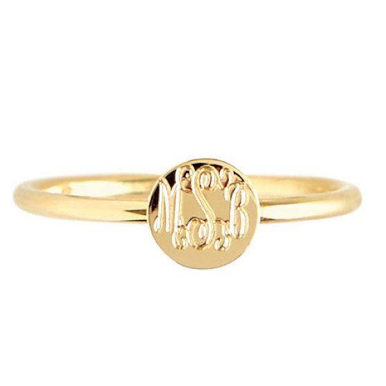 Rocha Ring | Mark and Graham - round, gold