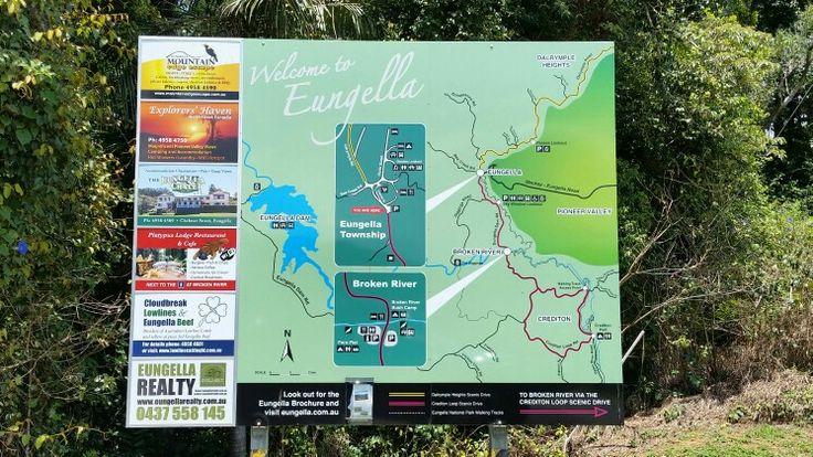 Map of Eungella, QLD