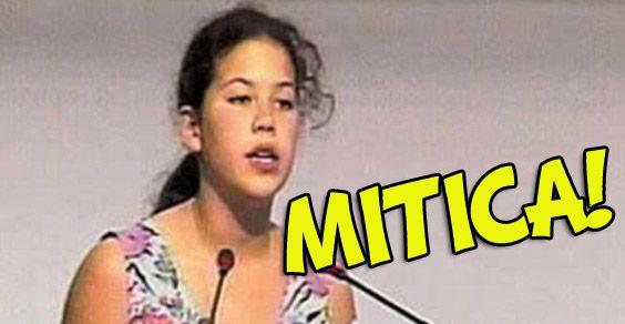 Severn Suzuki : La bambina che ha zittito il mondo e sconvolto tutti al Vertice delle Nazioni Unite http://jedasupport.altervista.org/blog/storia-2/severn-suzuki-bambina-nazioni-unite/