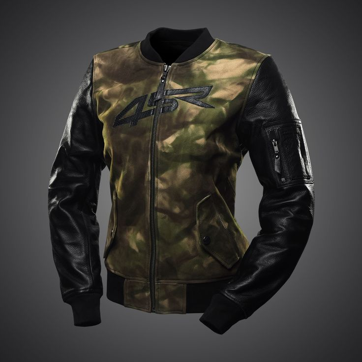 The Bomber Lady Camo jacket combines the typical cut of a flight jacket with added motorcycling design. It utilises modern materials but has a strong & distinctive vintage touch.